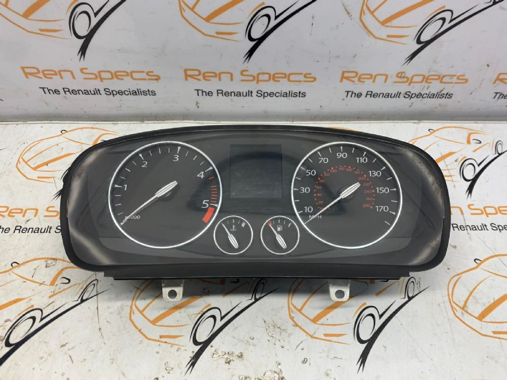 RENAULT LAGUNA MK3 2007-2015 2.0 SPEEDO CLOCKS & REV COUNTER 24100017R [BP]